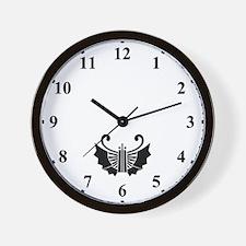 Butterfly-shaped fans(1) Wall Clock