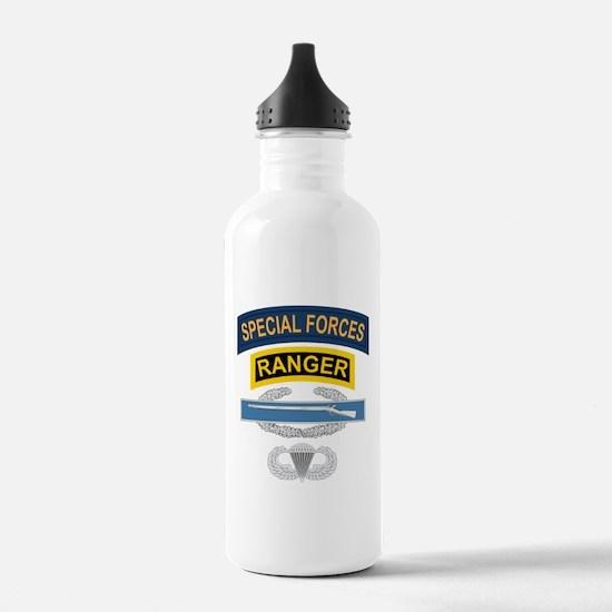 SF Ranger CIB Airborne Water Bottle