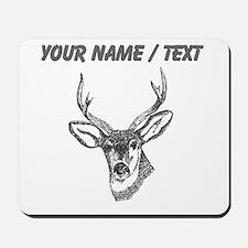 Custom Stag Sketch Mousepad