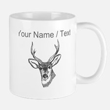 Custom Stag Sketch Mugs