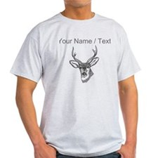 Custom Stag Sketch T-Shirt