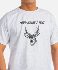 Custom Stag Sketch T-Shirt