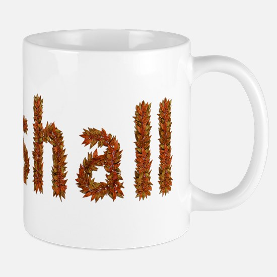 Marshall Fall Leaves Mugs