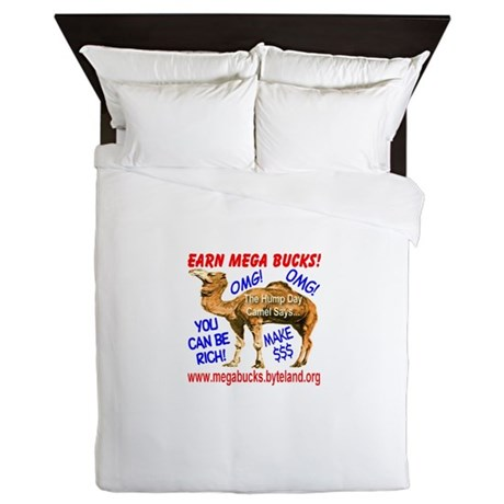 MegaBucks Camel Queen Duvet