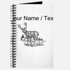 Custom Stag Sketch Journal