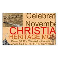 HERITAGE MONTH 2 Decal