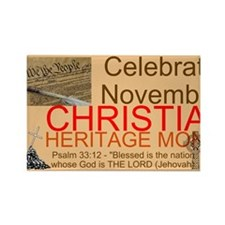 HERITAGE MONTH 2 Rectangle Magnet