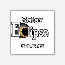 nashville total eclipse Sticker
