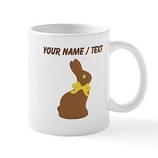 Custom Chocolate Bunny Mugs