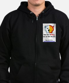 Get the Shell Out Medium Zip Hoody