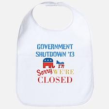 Government Shutdown 2013 Bib