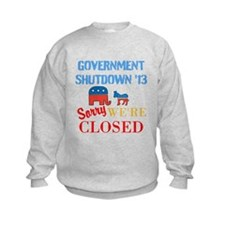 Government Shutdown 2013 Sweatshirt