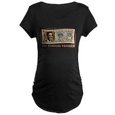 Food Stamp Obama Maternity T-Shirt