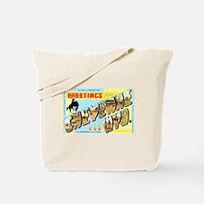 Cheyenne Wyoming Greetings Tote Bag