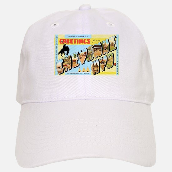 Cheyenne Wyoming Greetings Baseball Baseball Cap