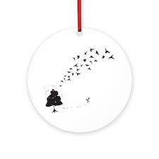 Swarm Round Ornament