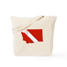 Washington Diver Tote Bag