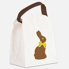 Chocolate Bunny Canvas Lunch Bag