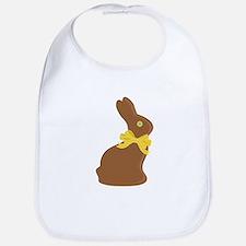 Chocolate Bunny Bib