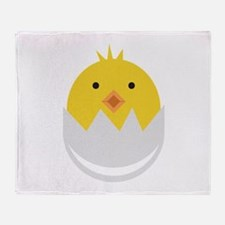 Baby Chick Throw Blanket