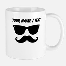 Custom Sunglasses Mustache Mugs