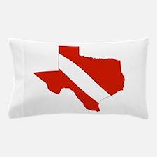 Texas Diver Pillow Case