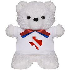 Texas Diver Teddy Bear