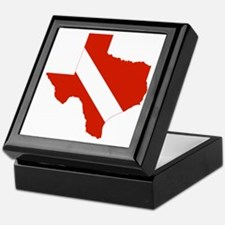 Texas Diver Keepsake Box