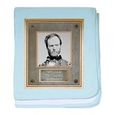 William Tecumseh Sherman baby blanket