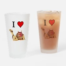 CAMEL Drinking Glass