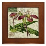 Orchid Framed Tiles