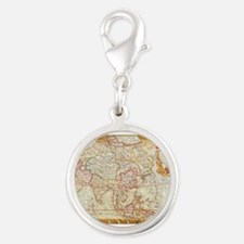 vintage map 2 Charms