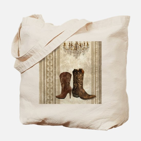cowboy boots western country Tote Bag
