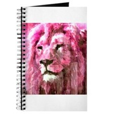 Lion On wood Journal