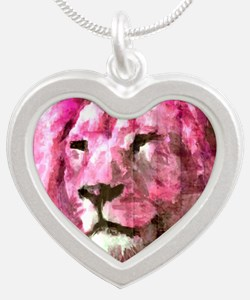 Lion On wood Necklaces