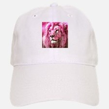 Lion On wood Baseball Baseball Baseball Cap