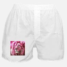 Lion On wood Boxer Shorts