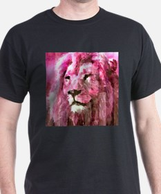 Lion On wood T-Shirt