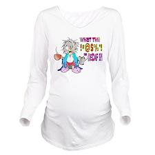 DECAF Long Sleeve Maternity T-Shirt