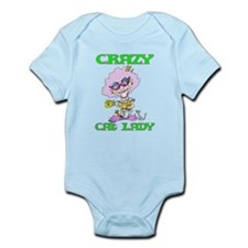 CRAZYCATLADY.png Infant Bodysuit