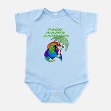 POLLYWANTSANOTHER.png Infant Bodysuit