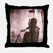 afternoon ride Throw Pillow
