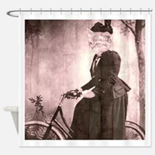afternoon ride Shower Curtain