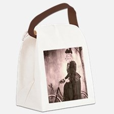afternoon ride Canvas Lunch Bag