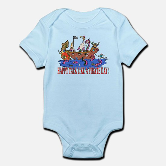 Happy Talk like A Pirate Day Infant Bodysuit