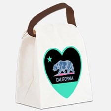 Love California - Bright Canvas Lunch Bag