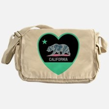 Love California - Bright Messenger Bag