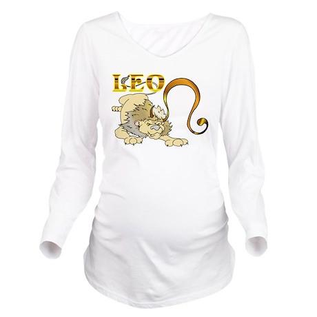 LEO.png Long Sleeve Maternity T-Shirt