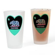 Love California - Bright Drinking Glass