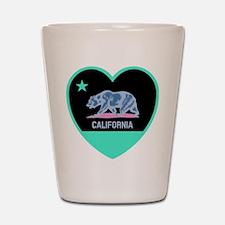 Love California - Bright Shot Glass